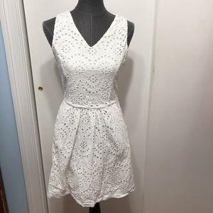 White Cynthia rowley dress size 6